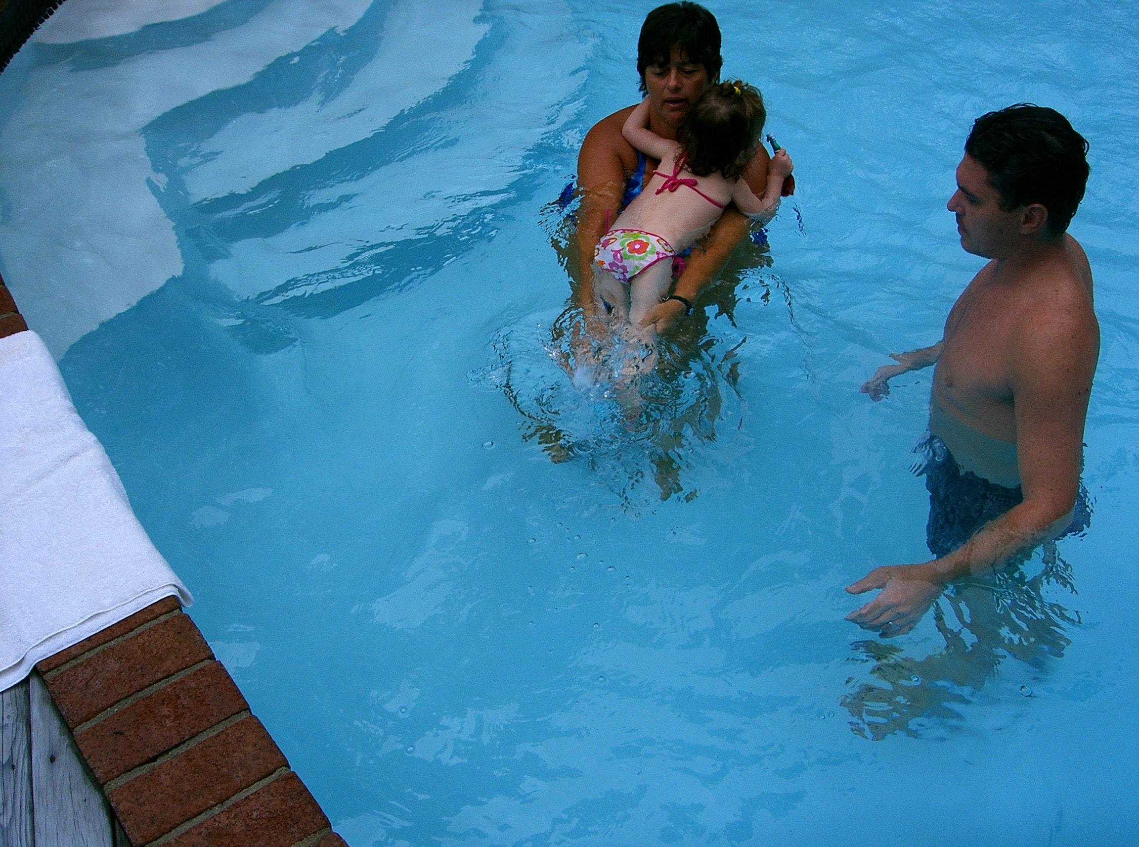 Parent and Baby Swim Class